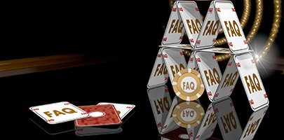 Illustration of a exclusive faq icon on the casino table